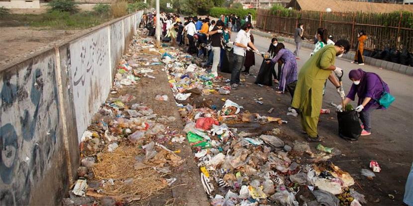 rising pollution in Karachi