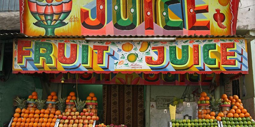 Fake Fruit Juices