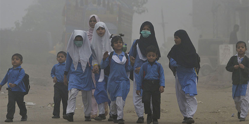 Hazardous smog linked