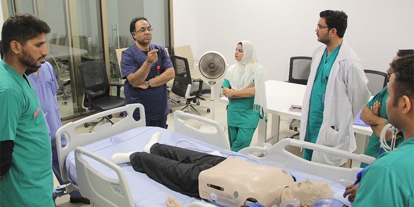 Training of Healthcare Staff