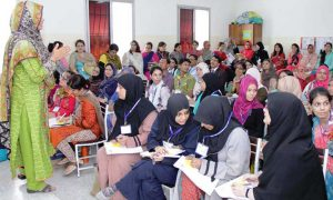 Untrained teachers education sector