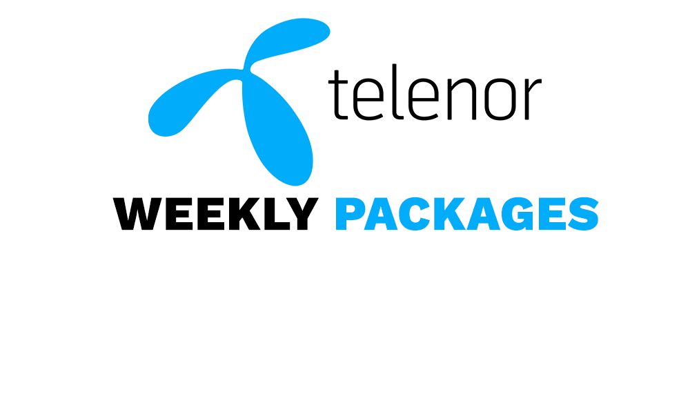 Telenor Weekly Packages