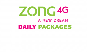 Zong Daily Packages