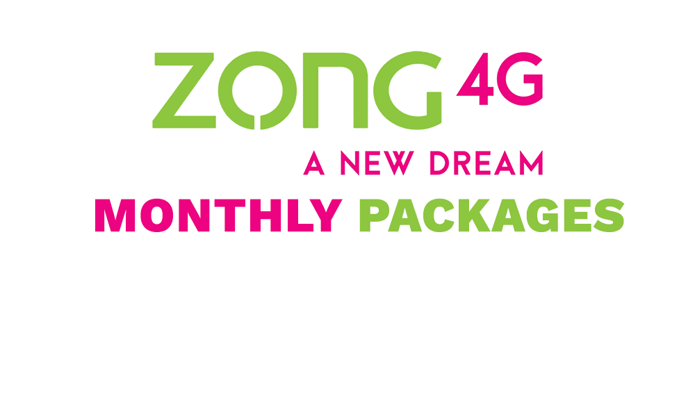 Zong Monthly Packages