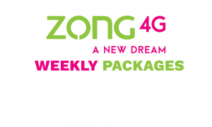 Zong Weekly Packages