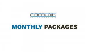 fiberlink monthly internet packages