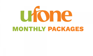 Ufone Monthly Packages