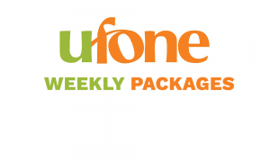 Ufone Weekly Packages