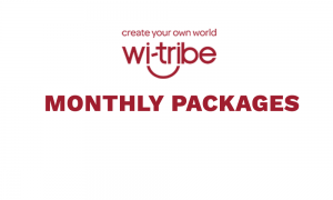 witribe monthly packages