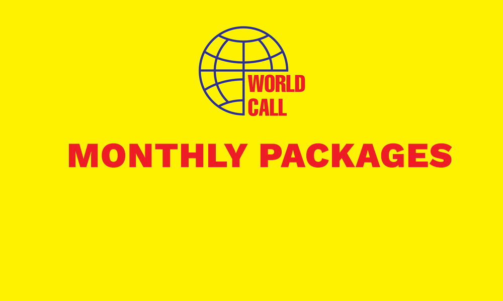 Wprldcall internet Packages