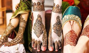 Mehndi Designs Feet