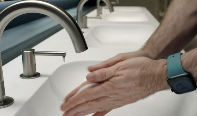 Apple Watch wash hands