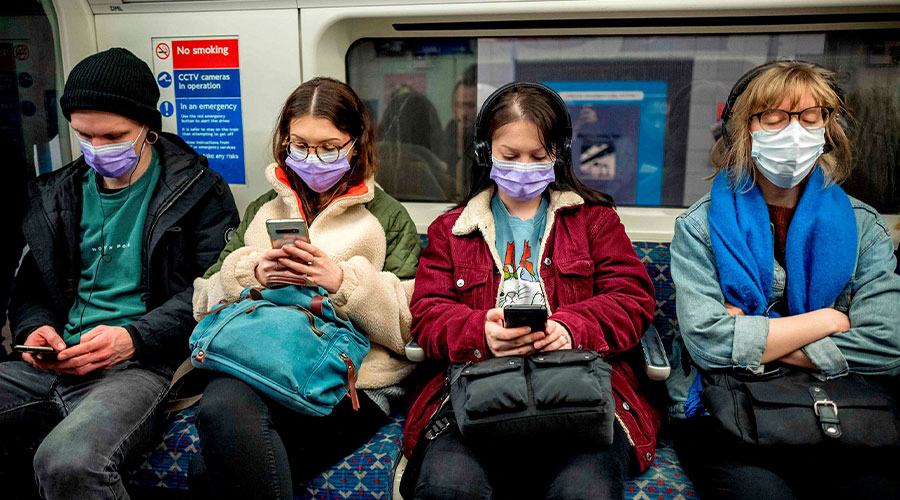 face masks in public transport