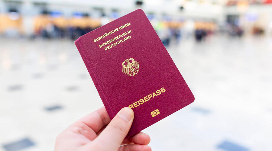 Germany passport photos