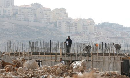 Construction Site Israel-Palestine