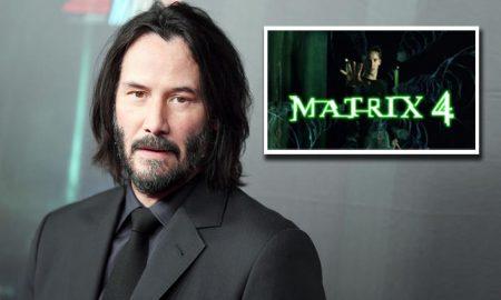 Keanu Reeves Matrix 4