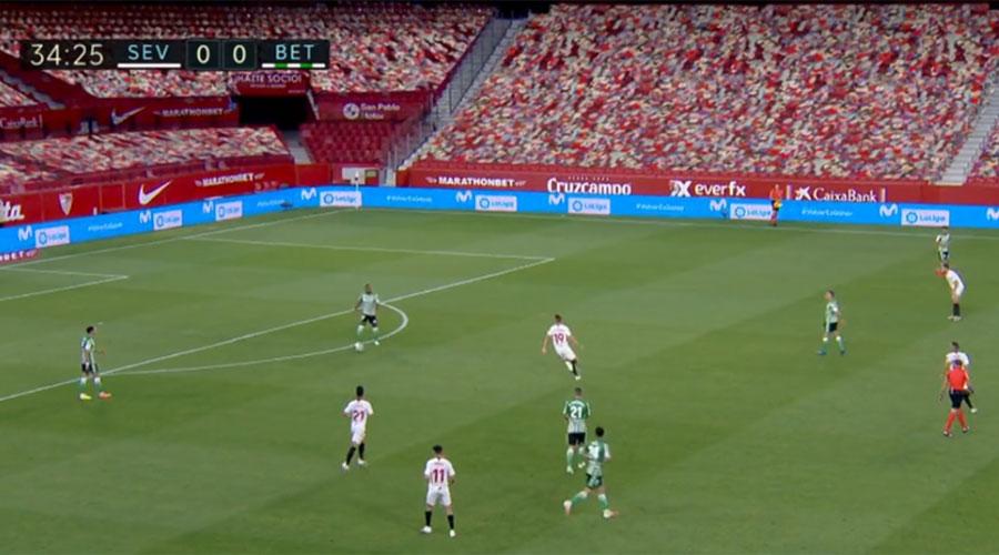 La Liga CGI crowd