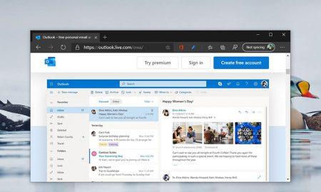 Microsoft Edge Outlook