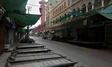 Rawalpindi deserted roads