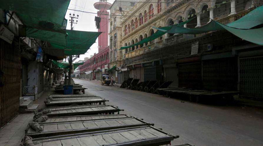 Rawalpindi deserted roads