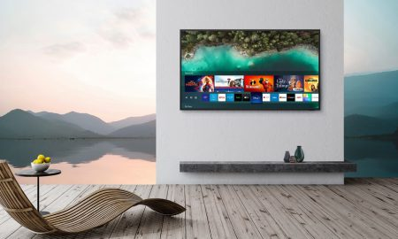 Samsung 4K TV Terrace