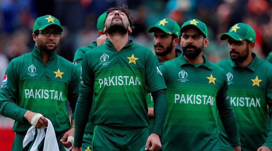 Seven Pakistani cricketers