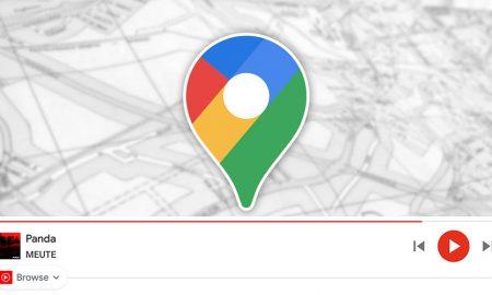 YouTube Music Google Maps
