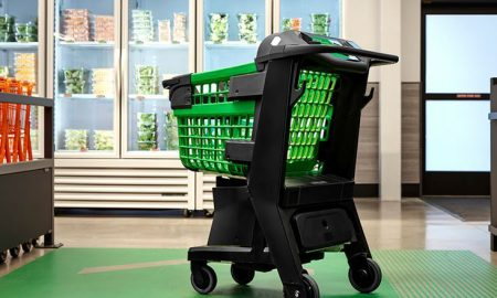 Amazon smart shopping cart