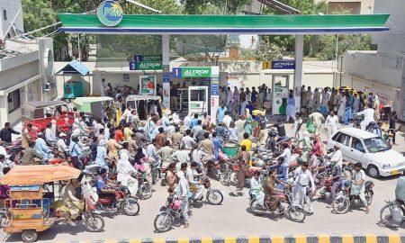 Cabinet petrol shortage
