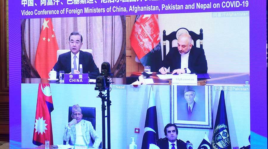 China Pakistan virtual meeting