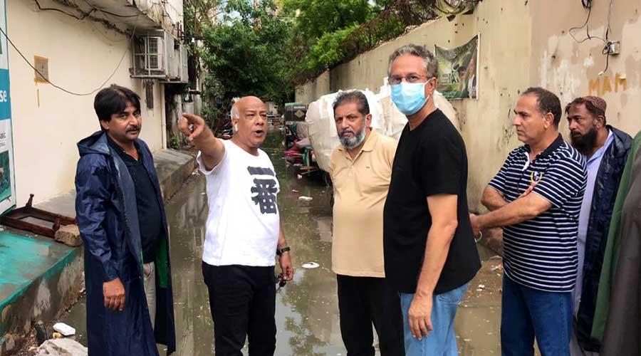 Karachi Mayor drains