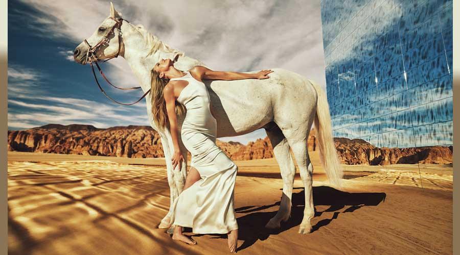 Models Photoshoot In Medina