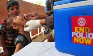 Polio vaccination activities