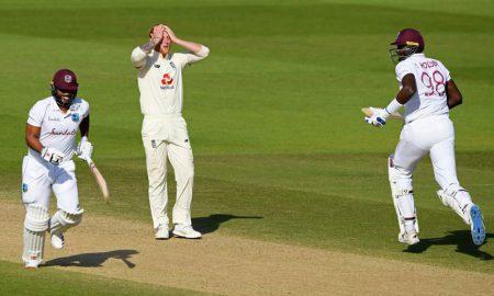 West Indies England first test
