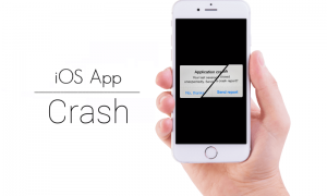 iOS apps crash
