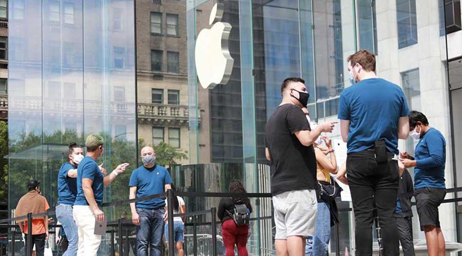 Apple iPhone pandemic