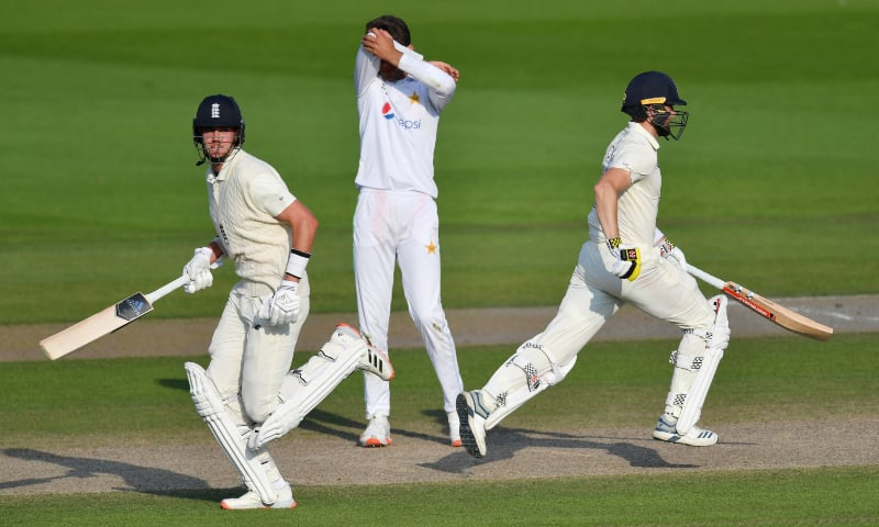 England first Test Victory