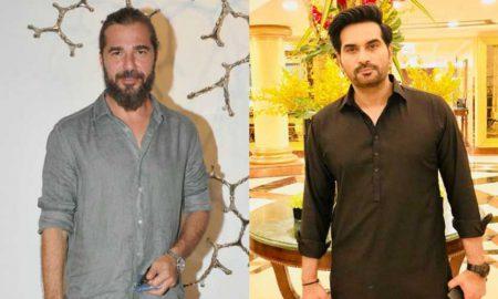 Pakistani celebrities Humayun Saeed Ertugrul