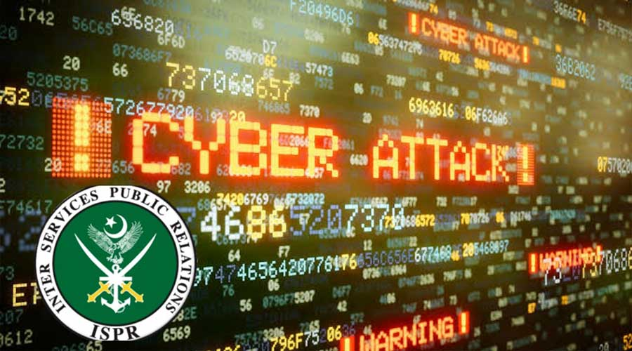 ISPR Indian cyber-attack