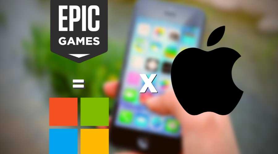 Microsoft Apple Epic Games