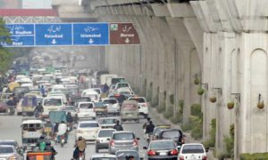 Rawalpindi Murree Road beautification