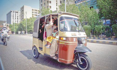 Rawalpindi Zakat Committee Rickshaw