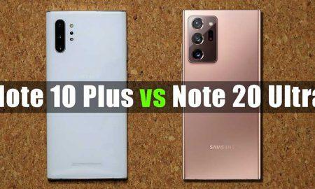 Samsung Note 10+ 20 Ultra