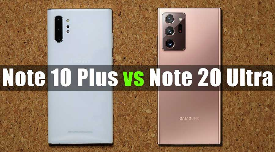 Samsung Note 10+ 20 Ultra
