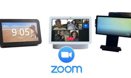 Zoom smart displays