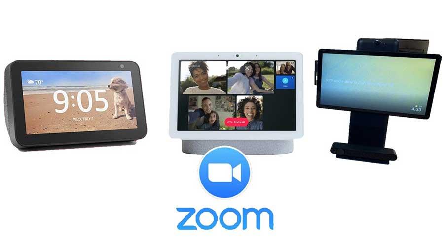 Zoom smart displays