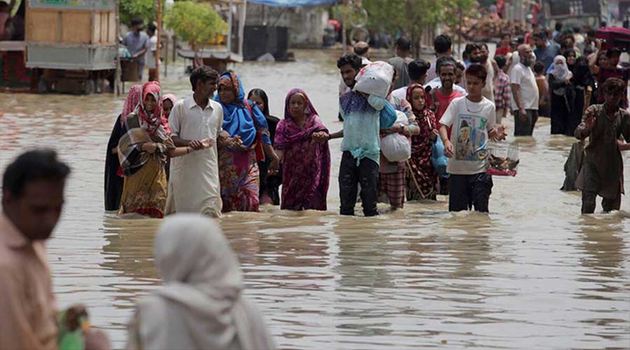 monsoon rain Karachi Pakistan