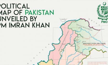 new Pakistan map