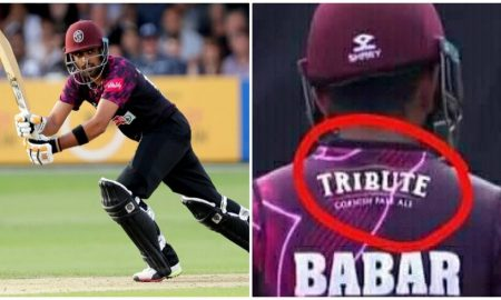 Babar Azam Somerset Alcohol