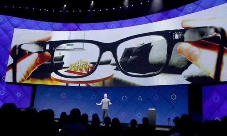 Facebook EssilorLuxottica smart glasses